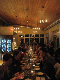 Communal Table Dinner at Miradoro