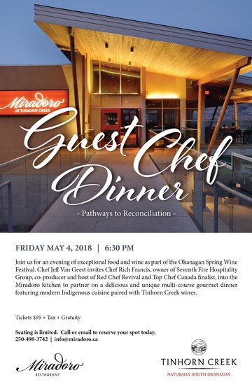 Guest Chef Dinner - May 4