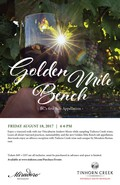 Golden Mile Bench - Aug 18