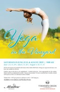 2019 Yoga in the Vineyard - dates & tickets