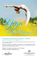 2017 Yoga in the Vineyard - dates & tickets